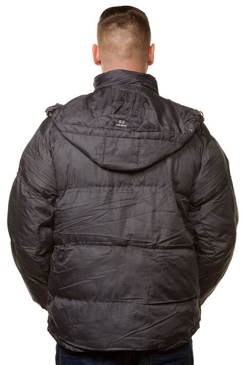 plain padded jacket new mens padded jacket puffer lining plain quilted hooded
