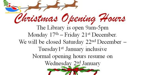 Dit Aungier Street Library Christmas Opening Aungier St Opening Hours Template