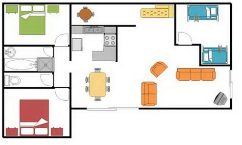 make house blueprints simple square house floor plans simple house floor plan