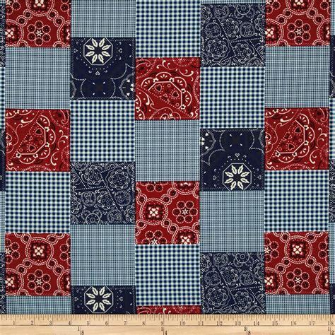 Cheap Patchwork Fabric - michael miller bandana patchwork discount designer
