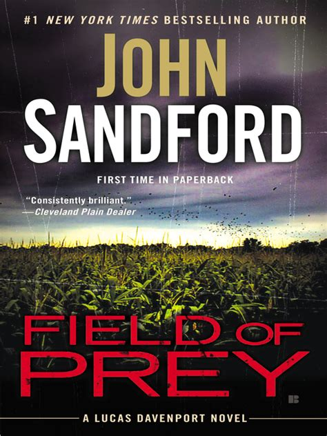 field of prey lucas davenport series 24 by john field of prey old colony library network overdrive