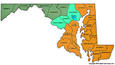 maryland foliage map smart institute for governmental service and