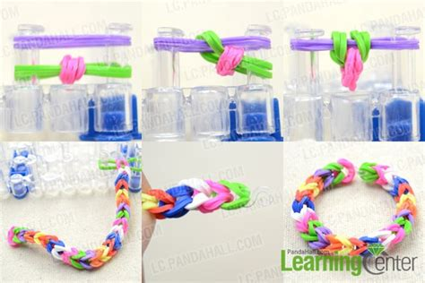 Kids Jewelry On How To Make Colorful Rubber Band Ring