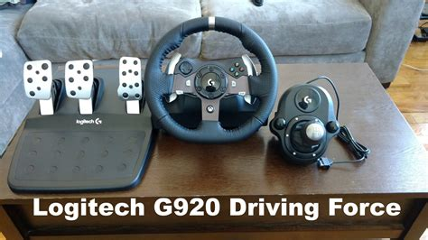 logitech g920 driving review forza 6