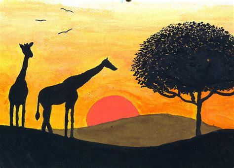imagenes de paisajes naturales faciles de dibujar im 225 genes f 225 cil de dibujar de paisajes naturales imagui