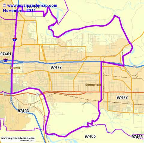 zip code map of 97477 demographic profile residential