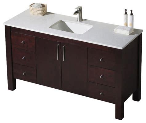 60 in bathroom vanities with single sink parsons 60 single vanity bathroom vanities and sink
