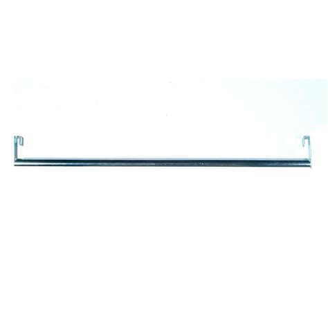 Closet Rod Hanger by Closetmaid Shelftrack 5 Ft 8 Ft Nickel Closet