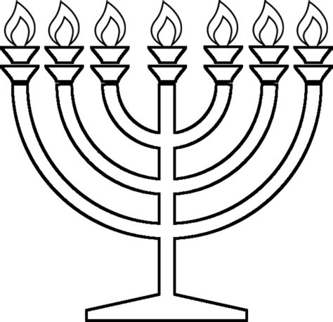 candelabra coloring pages