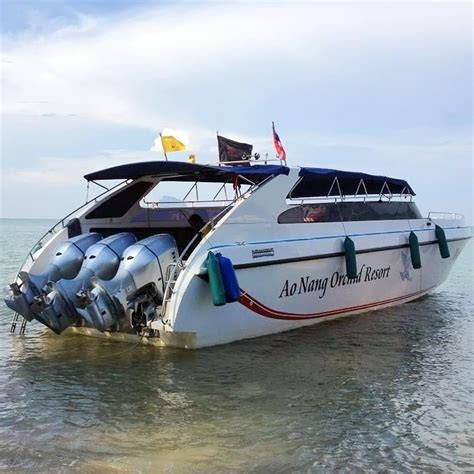 to boat private speed boat charter your krabi
