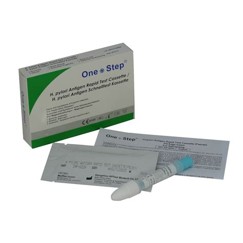 test helicobacter 1 x stomach ulcer test helicobacter h pylori faecal kit