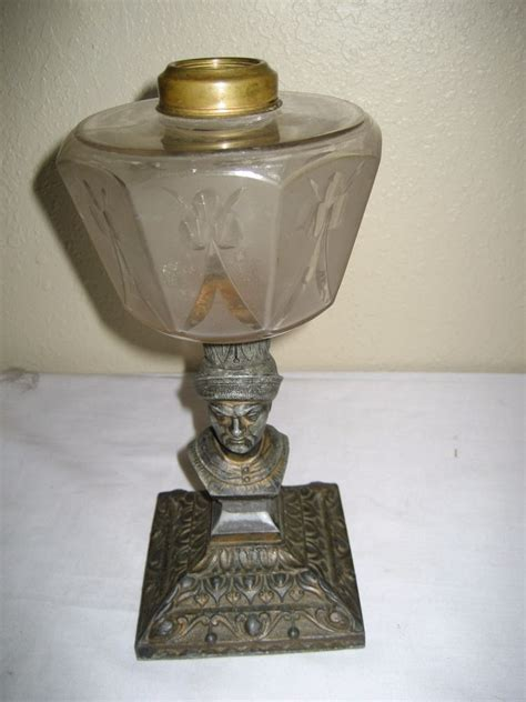 antique kerosene l identification antique figural base kerosene oil l ebay