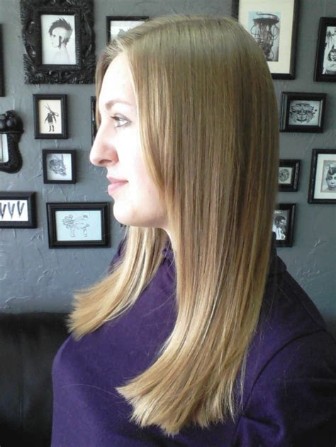 pic of laser hairstyle of back side 17 best one length haircuts images on pinterest hair cut