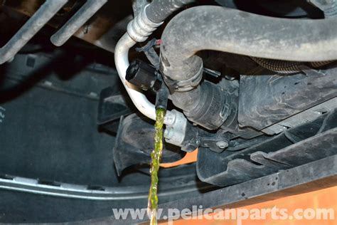 Volkswagen Golf Gti Mk Iv Coolant Flush And Replacement