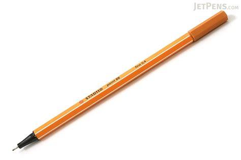 Stabilo Point 88 Ochre stabilo point 88 fineliner marker pen 0 4 mm