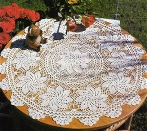 Crochet Tablecloths Crochet Kingdom 19 Free Crochet pretty tablecloth pattern crochet kingdom