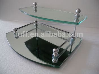 2 Tier Glass Vanity Tray by Two Tier Glass Valet Vanity Tray Mirrored Vanity Tray Buy Vanity Tray Glass Vanity Tray Metal