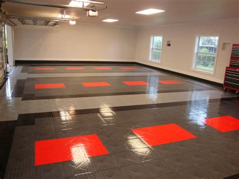 floor contemporary garage tech flooring on floor and shop racedeck floors unique garage tech racedeck garage flooring ideas cool garages with cool