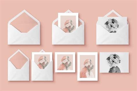 pattern mock up free 20 psd invitation greeting card mockups webprecis
