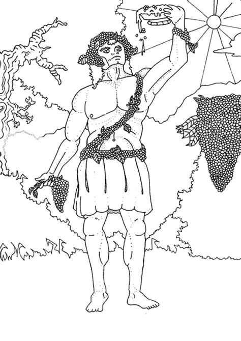 free coloring pages of greek god poseidon
