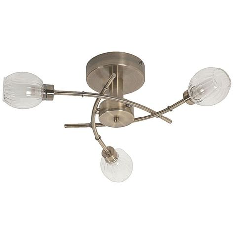 Modern Antique Brass Ceiling Lights Thlc Modern Stylish 3 Light Semi Flush Ceiling Light In Antique Brass Finish Lighting From The