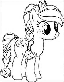 My Little Pony Coloring Pages Applejack  Free On sketch template
