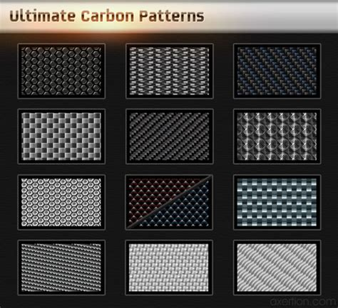 pattern illustrator carbon collection of high quality yet free carbon fiber textures