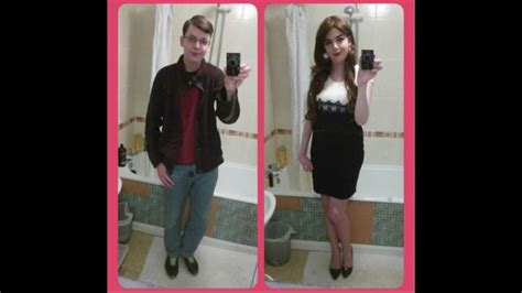 real forced feminization before and after lucy s boy to girl makeover before and after