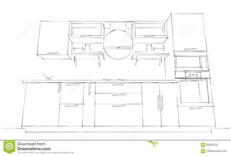 disegna cucina 3d disegna cucina 3d schizzi il disegno astratto di