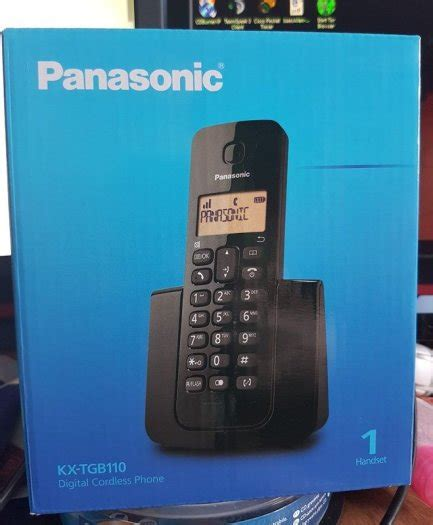 Panasonic Kx Tgb110 Telpon Wireless Cordless Phone 1 panasonic kx tgb110 digital cordless phone for sale in cappawhite tipperary from isaac allen