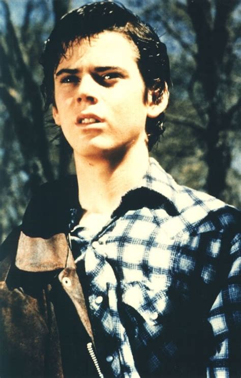 the outsiders film starring c thomas howell matt thomas howell starring as ponyboy curtis in the outsiders