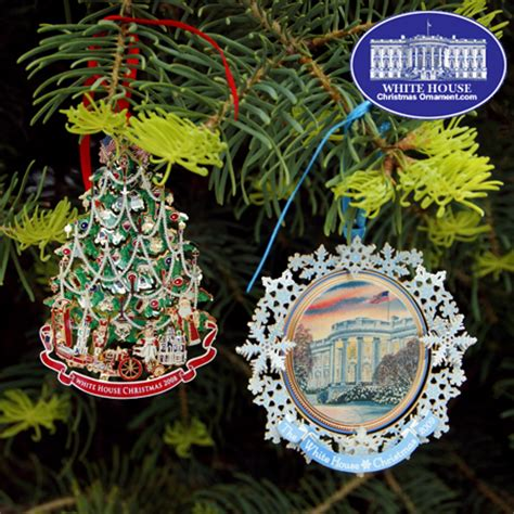 1980 white house christmas ornament 2009 white house ornament gift set