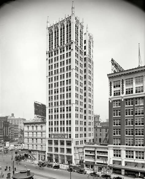 Cadillac Building Shorpy Saturday Cadillac Square Building 1918 The