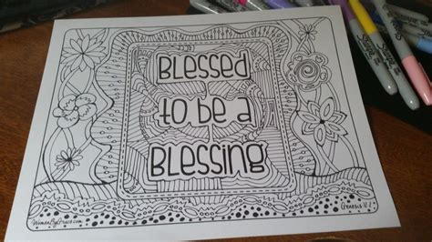 the color of blessings books coloring pages christian coloring page blessed to
