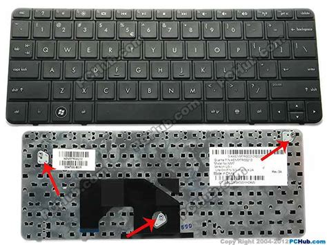 Keybord Hp Mini 210 Series hp mini 210 series keyboard aenm7r00210 sg 35401 xua