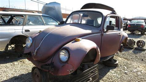 Volkswagen Salvage Yard by Junkyard Find 1969 Volkswagen Beetle