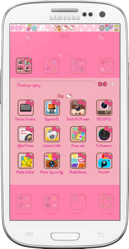 hello kitty car ride go launcher theme android themes hello yoki go laucher theme android themes