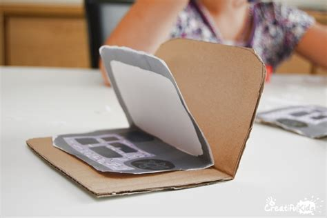 How To Make A Paper Laptop - make crafts on the computer