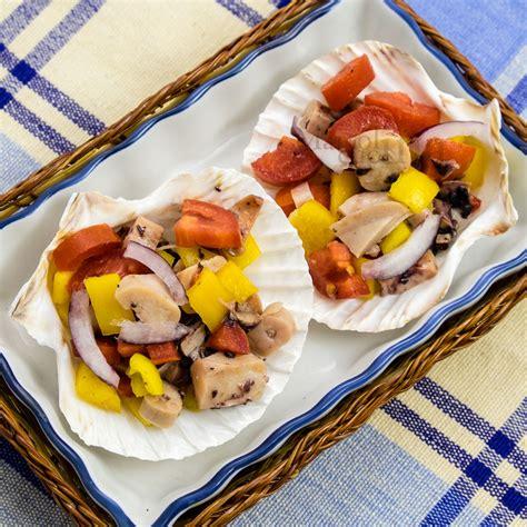 insalata di piovra e sedano insalata di piovra pesce pentola a pressione