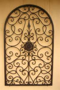 Rod Iron Wall Art Home Decor by Iron Wrought On Pinterest Wrought Iron Metal Walls And