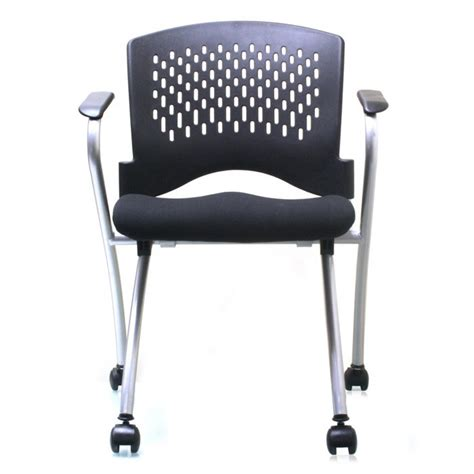 Flip Chair by Ergo Flip Seat Nesting Guest Chair