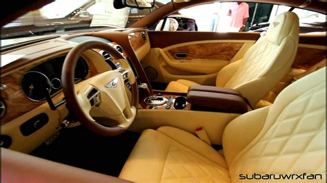 bentley interior bentley continental gt with interior