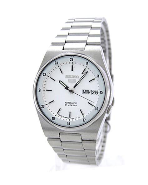 seiko white stainless steel for snxm17j5
