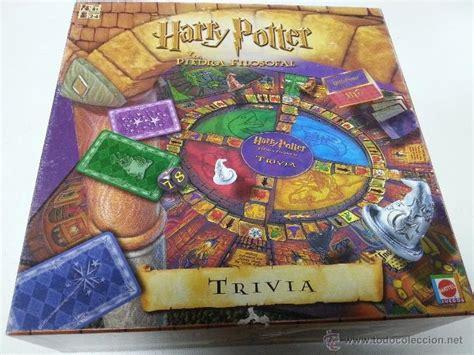 preguntas de harry potter juego trivial harry potter y la piedra filosofal matt comprar