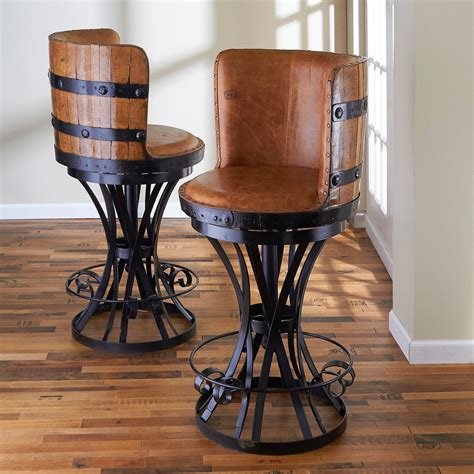 Wrought Iron Bar Stools With Leather Seats by Furniture Awesome Wrought Iron Bar Stools With Leather