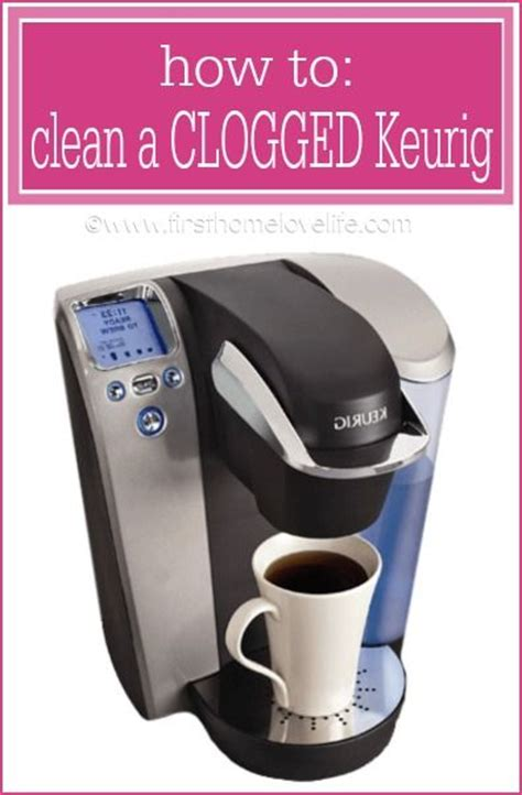 How to Clean a Clogged Keurig   Keurig, Cleanses and Coffee Machines