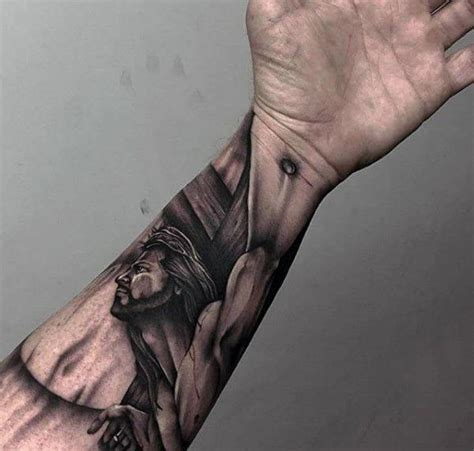 jesus arm tattoo designs 17 best ideas about jesus on cross on
