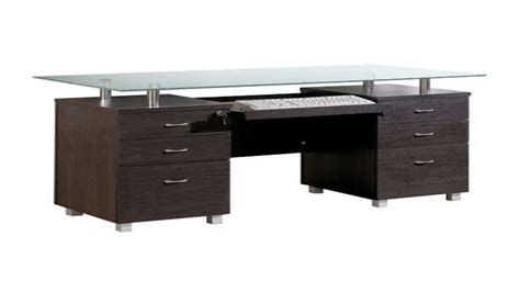 glass top desk walmart low bookcase with doors glass l desk walmart frosted
