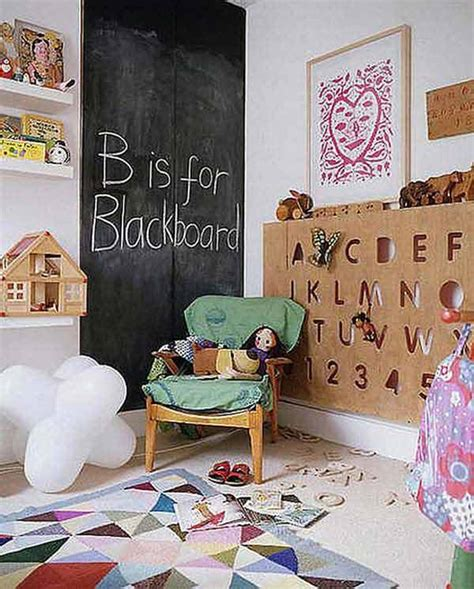 36 exciting ideas to decorate rooms with colored chalkboard paint amazing diy interior