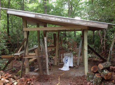 walls   pole shed